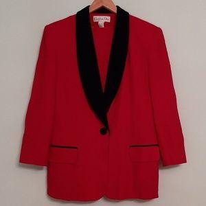Christian Dior Vintage Wool Suit Jacket&Skirt sz14